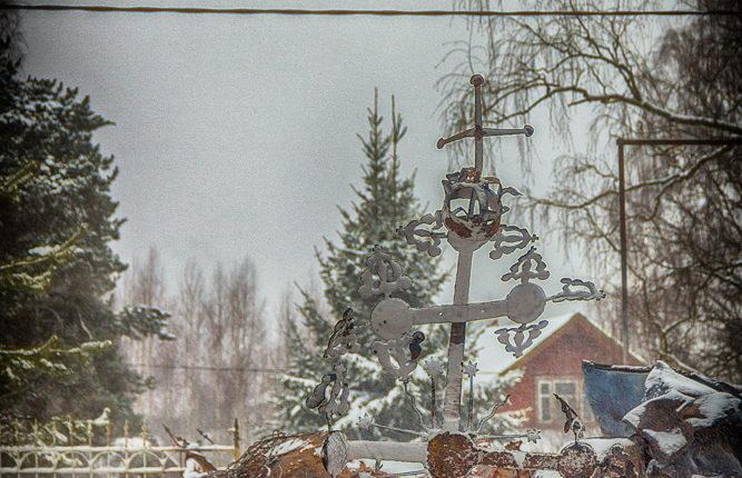 Сгорела церковь